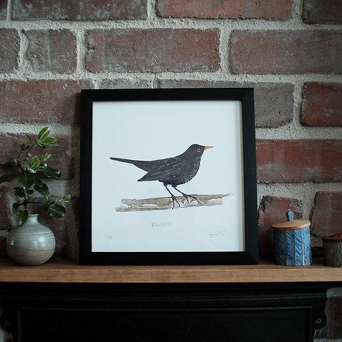Blackbird Print