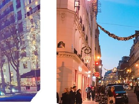 世界でクリスマス(その2)  パリでの美のクリスマスイブ
