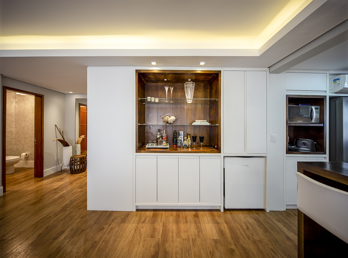 Hall/ Lavabo/ Bar/ Cozinha