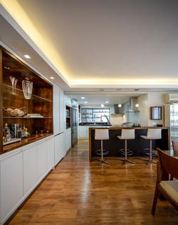 Bar/ Jantar/ Cozinha