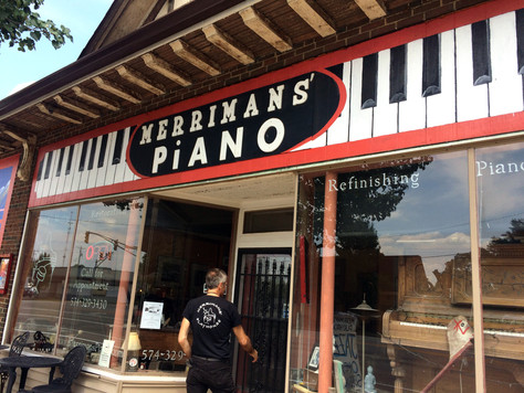 OLD Piano Store/Shop location
