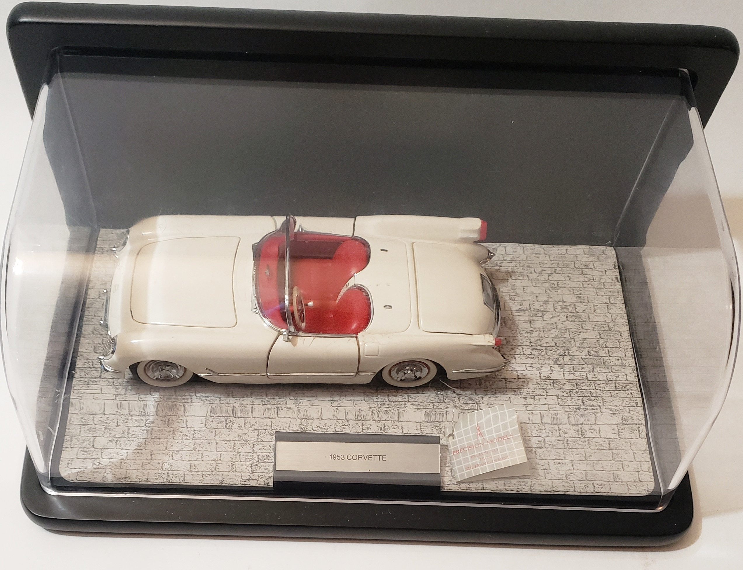 Franklin Mint, Precision Models: 1953 Chevrolet Corvette, Die Cast Model Car