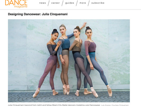 Dance Magazine Talks to Owner of Jule, Julia Cinquemani