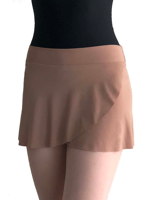 Petal Skirt: Camel