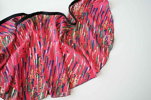 WS139 Wrap Skirt: LA Daze