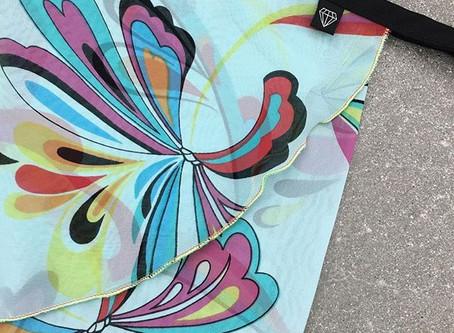 New: Groovy Wrap Skirt