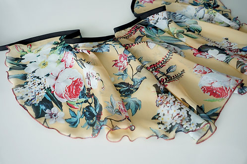 WS181 Wrap Skirt: French Vanilla