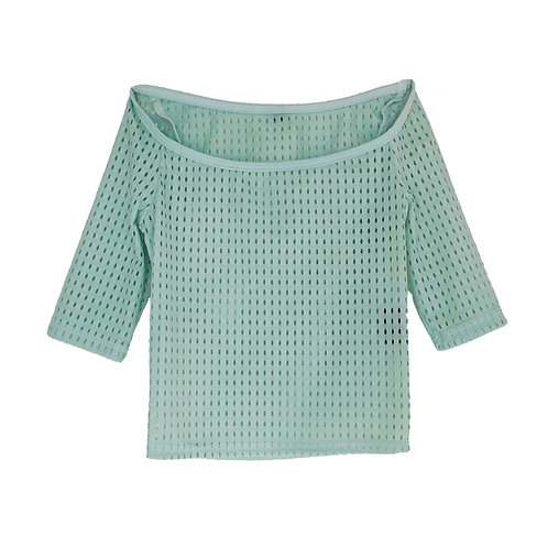 Crop Top Overlay: Spearmint