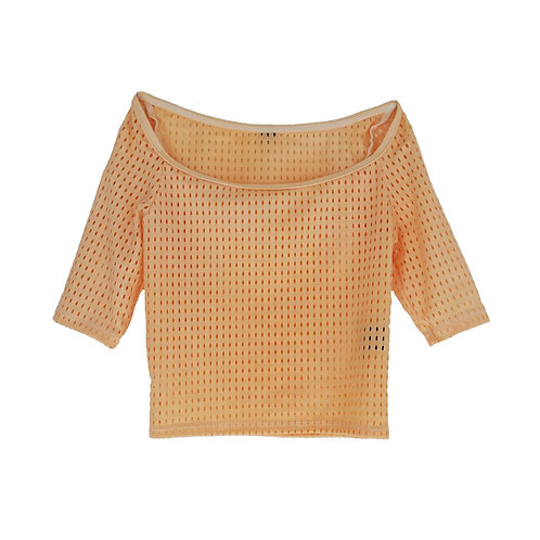 Crop Top Overlay: Cantalope