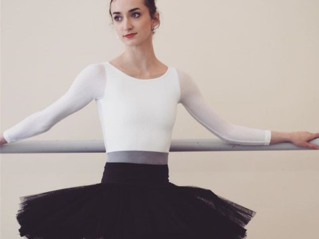 Jessica McCann of Pittsburgh Ballet Theatre in the Royal leotard.