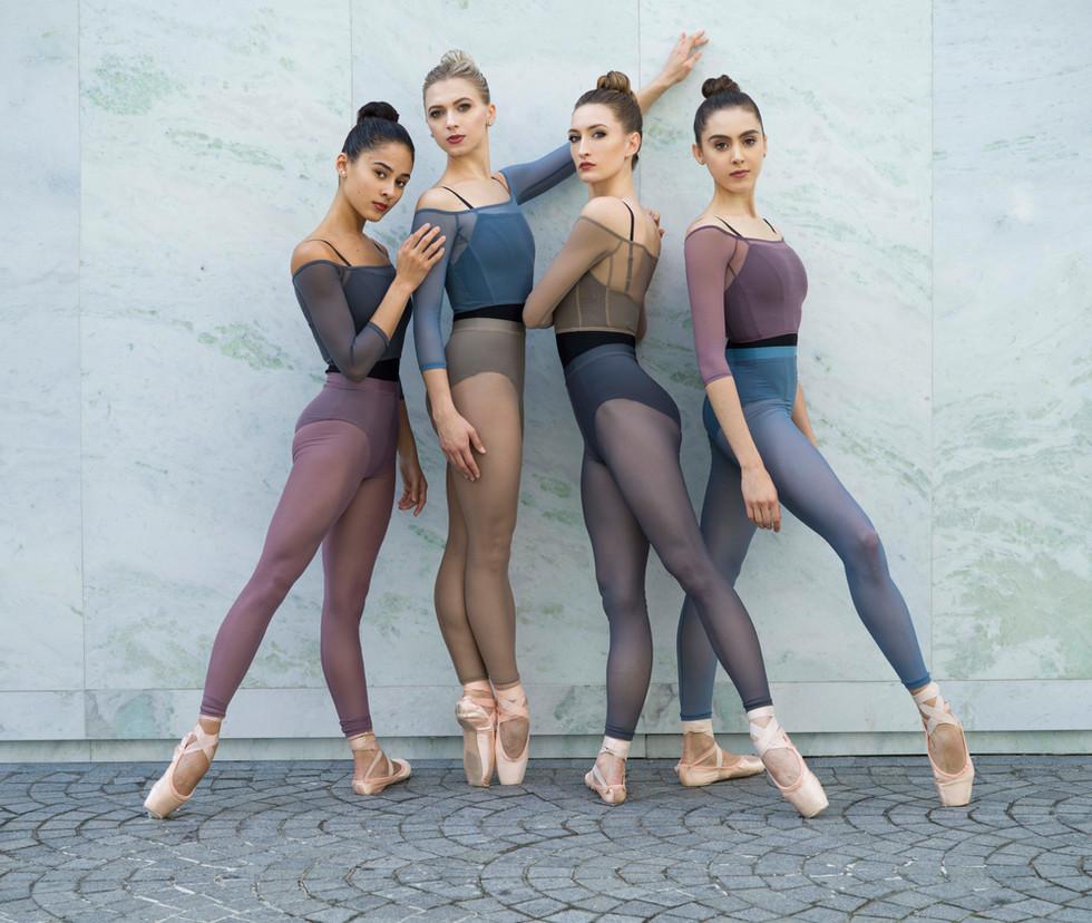 Jule Dancewear Meshie Tights and Crop Tops