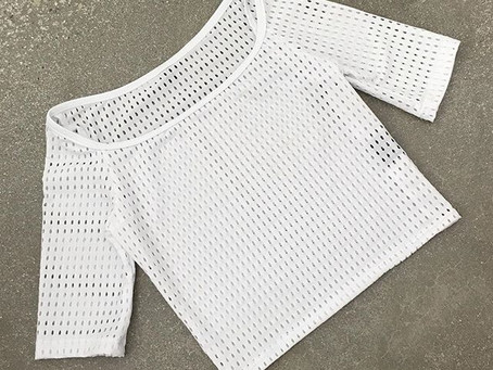 The Crop Top Overlay. Layer it over anything!