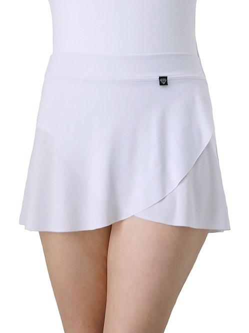 Petal Skirt: White