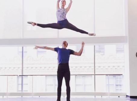 Chloe Sherman of The Joffrey Ballet flying in her Meshies!