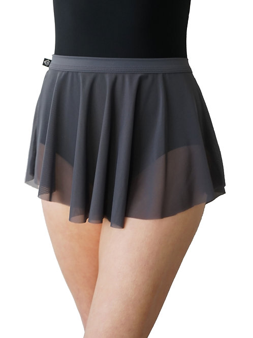 Meshie Skirt: Charcoal