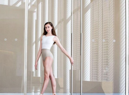"""Introducing the new """"Royalette"""" leotard!"""