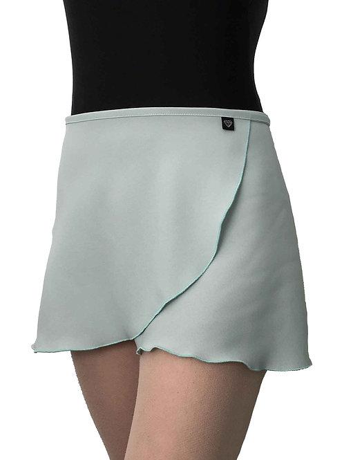 WS131 Wrap Skirt: Seafoam