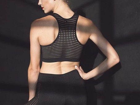 Madeline Houk in Jule Activewear.