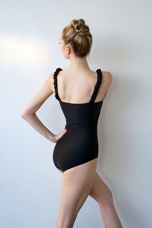 Carbon Leotard: Black