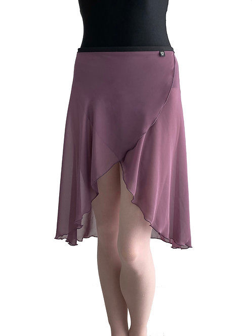 Long Wrap Skirt: Amethyst