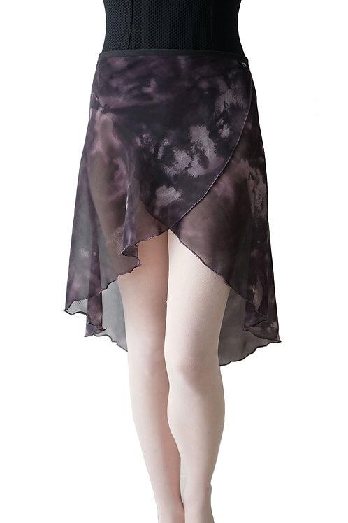 Long Wrap Skirt: Midnight Hour