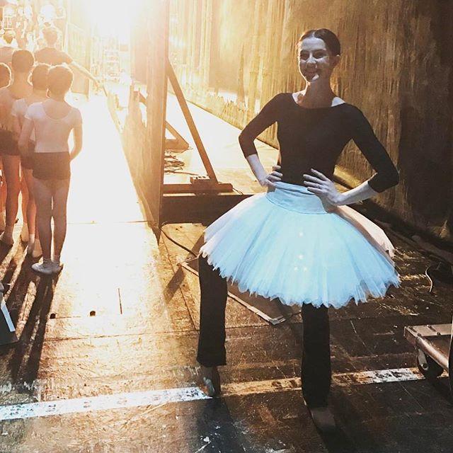 Royal Ballet Soloist wearing Jule Dancewear