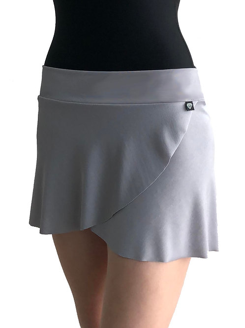 Petal Skirt: Dove Grey