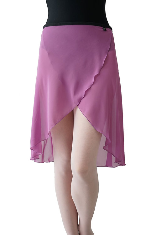 Long Wrap Skirt: Orchid