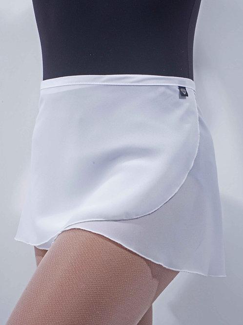 WS38 Wrap Skirt: White