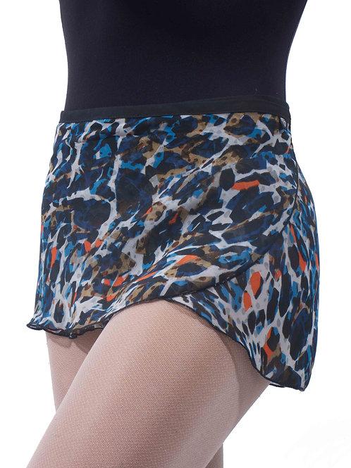WS101 Wrap Skirt: Got the Blues