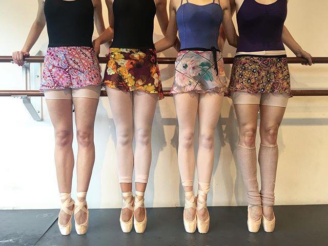 Wrap Skirts on Los Angeles Ballet Dancers