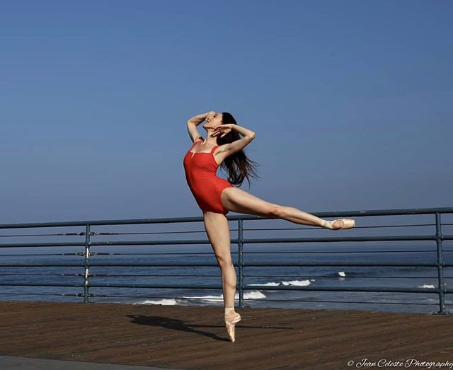 Laura Chachich wearing Jule Dancewear