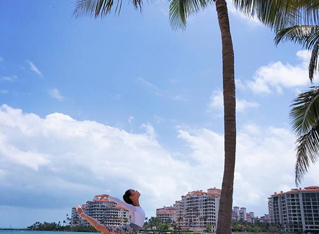 Ao Wang of Miami City Ballet in the Royal leotard.