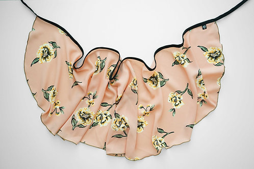 WS192 Wrap Skirt: Flower Festival