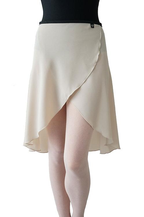 Long Wrap Skirt: Creme De La Creme