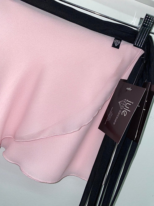 WS85 Wrap Skirt: Solid Light Pink