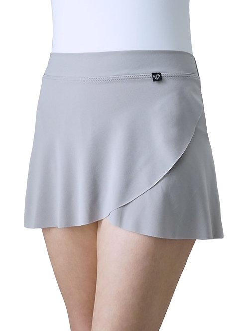 Petal Skirt: Dove Grey