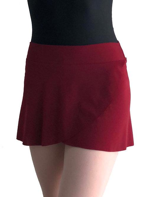 Petal Skirt: Merlot