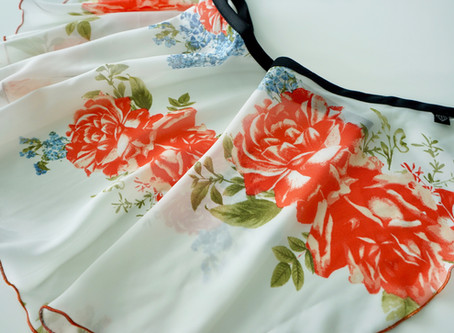 New Wrap Skirt Prints for Fall