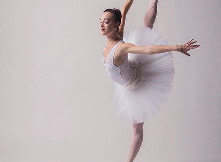 Abby Callahan of Los Angeles Ballet in our Pendeloque leotard. Photo: Lindsay Thomas