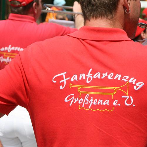 Polo-Shirt mit Vereinsstickerei FFZ