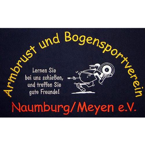 Logostickerei Bogenschützen