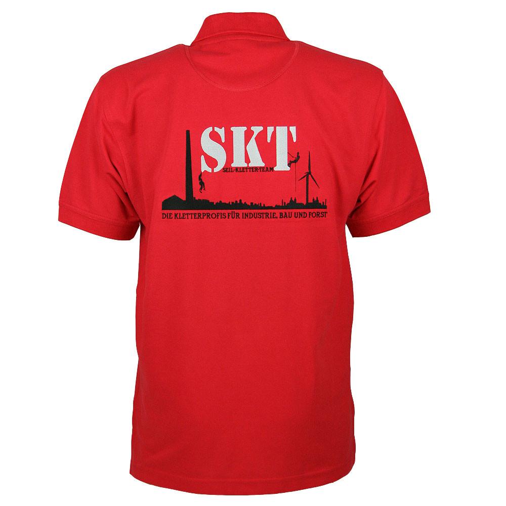 Polo-Shirt mit Firmenlogo bestickt