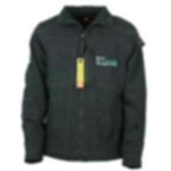 Arbeits Softshell Jacke mit Firmenlogo besticken