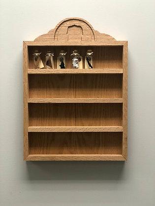 Display case for art vials
