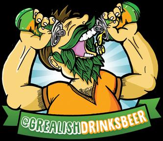 Grealish Drinks Beer Logo