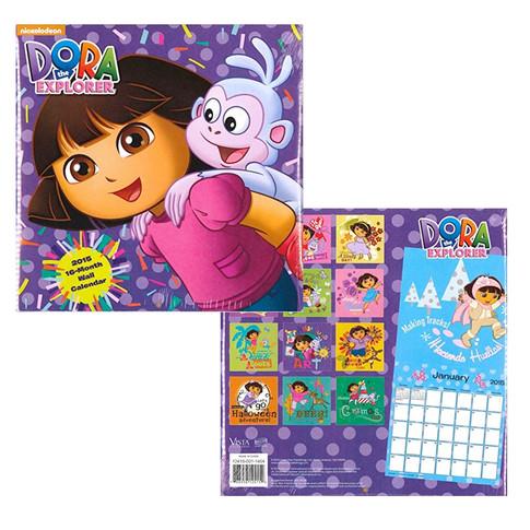 Dora The Explorer Wall Calendar