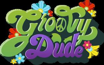Groovy Dude Twitch Logo