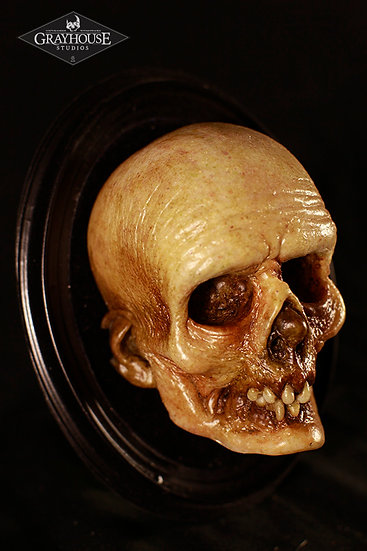 PAINTED RESIN MORT #5