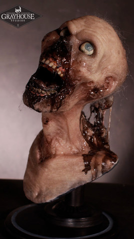 LIVING DEATH DELUXE SILICONE HEAD BUST